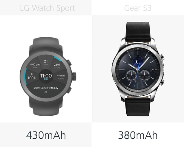 LG Watch Sport против Samsung Gear S3: Android Wear 2.0 7