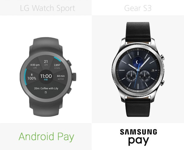 LG Watch Sport против Samsung Gear S3: Android Wear 2.0 9