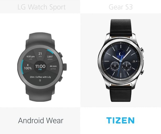LG Watch Sport против Samsung Gear S3: Android Wear 2.0 10