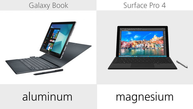 Samsung Galaxy Book против Microsoft Surface Pro 4: Windows-баталии устройств 2 в 1 4