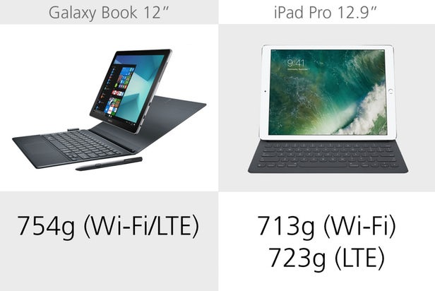 Samsung Galaxy Book против Apple iPad Pro: Windows против iOS 3
