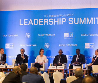 ITU Telecom World 2017: Day 1 highlights. Leadership Summit: Digital transformation – visions of smart societies