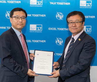 ITU Telecom World 2017: Day 2 highlights. Memorandum of Understanding: ITU and Korea Institute of Finance