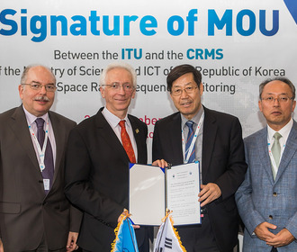 ITU Telecom World 2017: Day 2 highlights. Memorandum of Understanding: ITU and CRMS