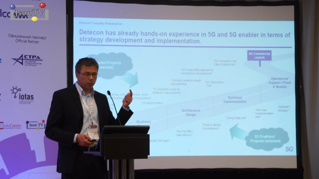 Comnews. Wireless Russia. Вольфганг Кноспе, Detecon: Edge Computing как ключевое преимущество 5G