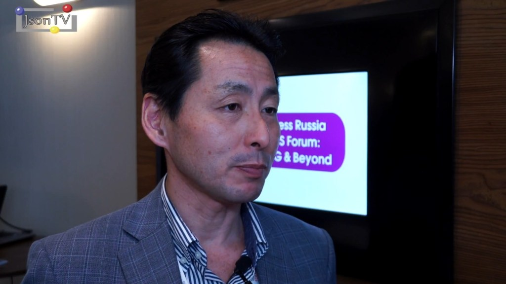 Conmnews. Wireless Russia. Takehiro Nakamura, NTT DOCOMO: I'm sure we will be able to deploy 5G with reasonable CAPEX