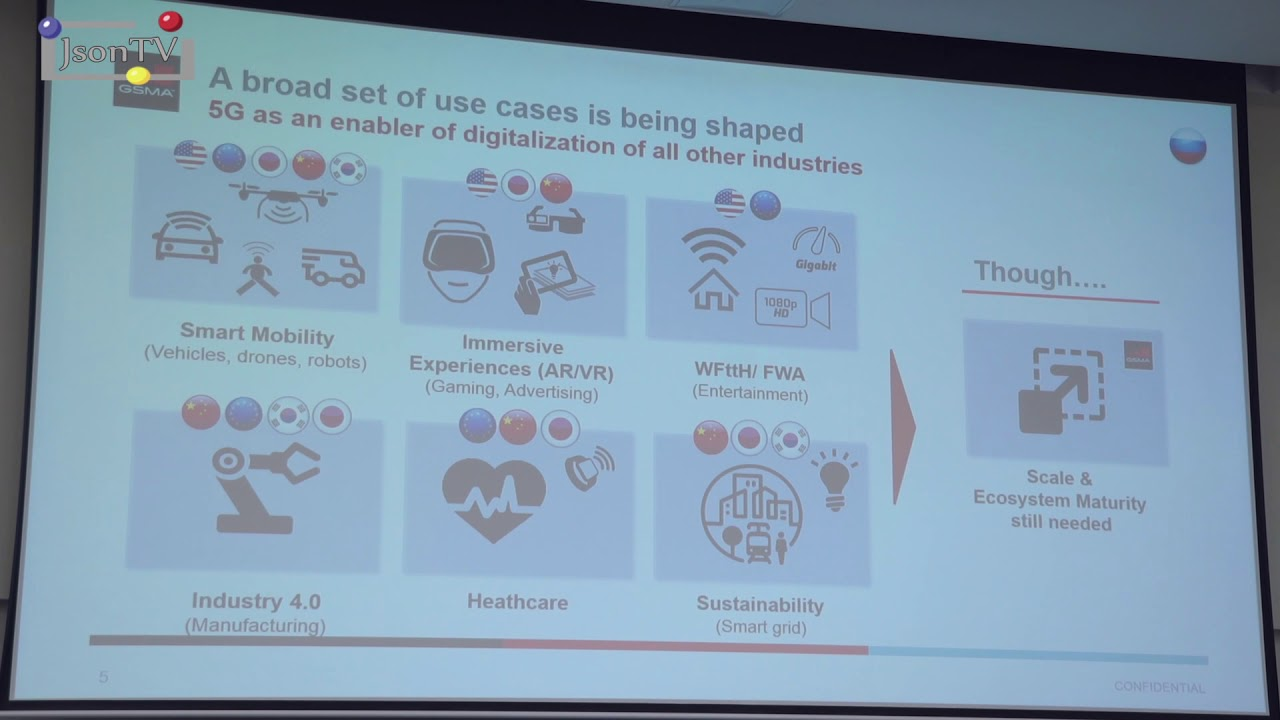 Mats Granryd, GSMA: Economics, not Technology dominates the 5G discussion
